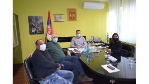 Радни састанак у Општини Нова Црња