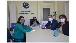 Национални савет ромске националне мањине  у посети Kанцеларији за инклузију Рома