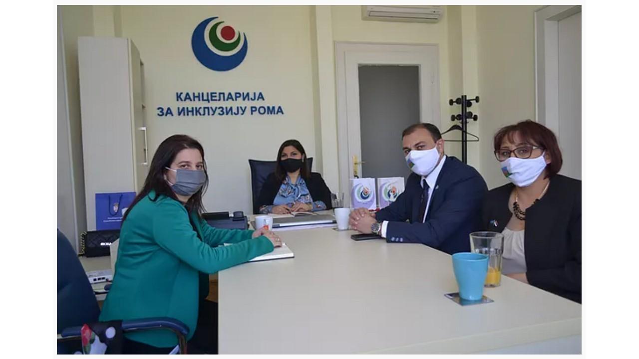 Read more about the article Национални савет ромске националне мањине  у посети Kанцеларији за инклузију Рома