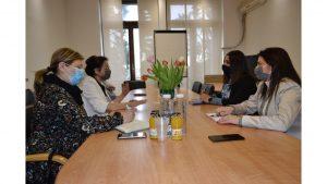 Министарка Гордана Чомић у посети Канцеларији за инклузију Рома