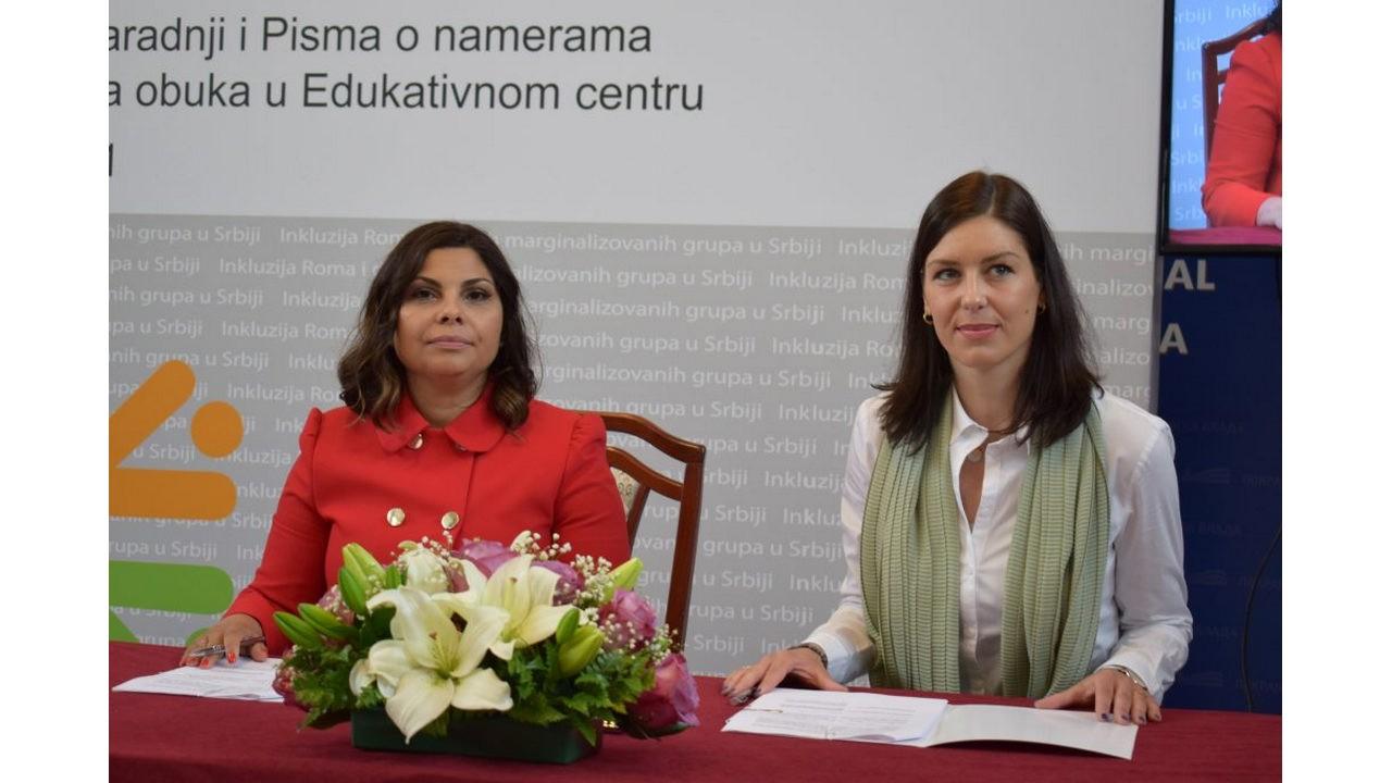 Read more about the article Потписан Меморандум о сарадњи између ГИЗ-а и Канцеларије за инклузију Рома