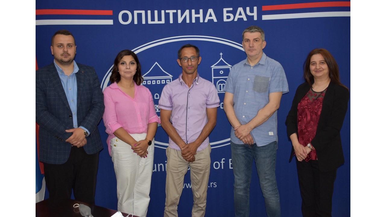 Радни састанак у општини Бач